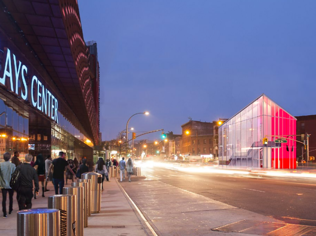 A stunning triangular glass building is coming to Brooklyn