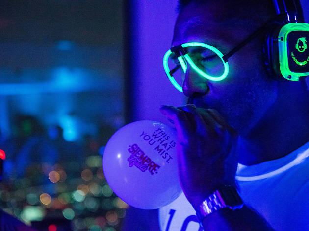 All of the glow-in-the-dark fun from Skylent Disco