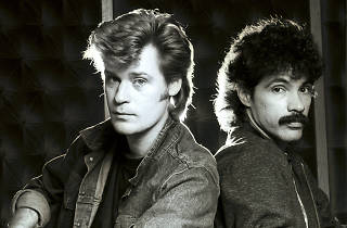 454216ddNo Merchandising. Editorial Use OnlyMandatory Credit: Photo by Andre Csillag/REX/Shutterstock (454216dd)HALL AND OATES - DARYL HALL AND JOHN OATES, LONDON, BRITAIN - OCT 1982VARIOUS