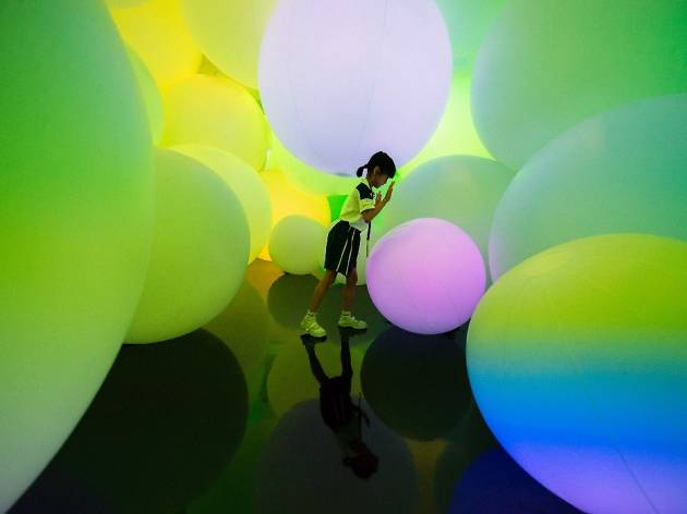 Children's Biennale, teamLab