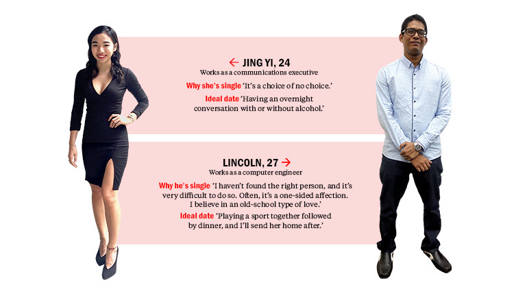 Find me a date: Lincoln and Jing Yi