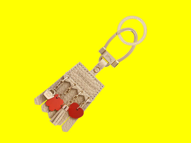 Penelope key chain, Longchamp