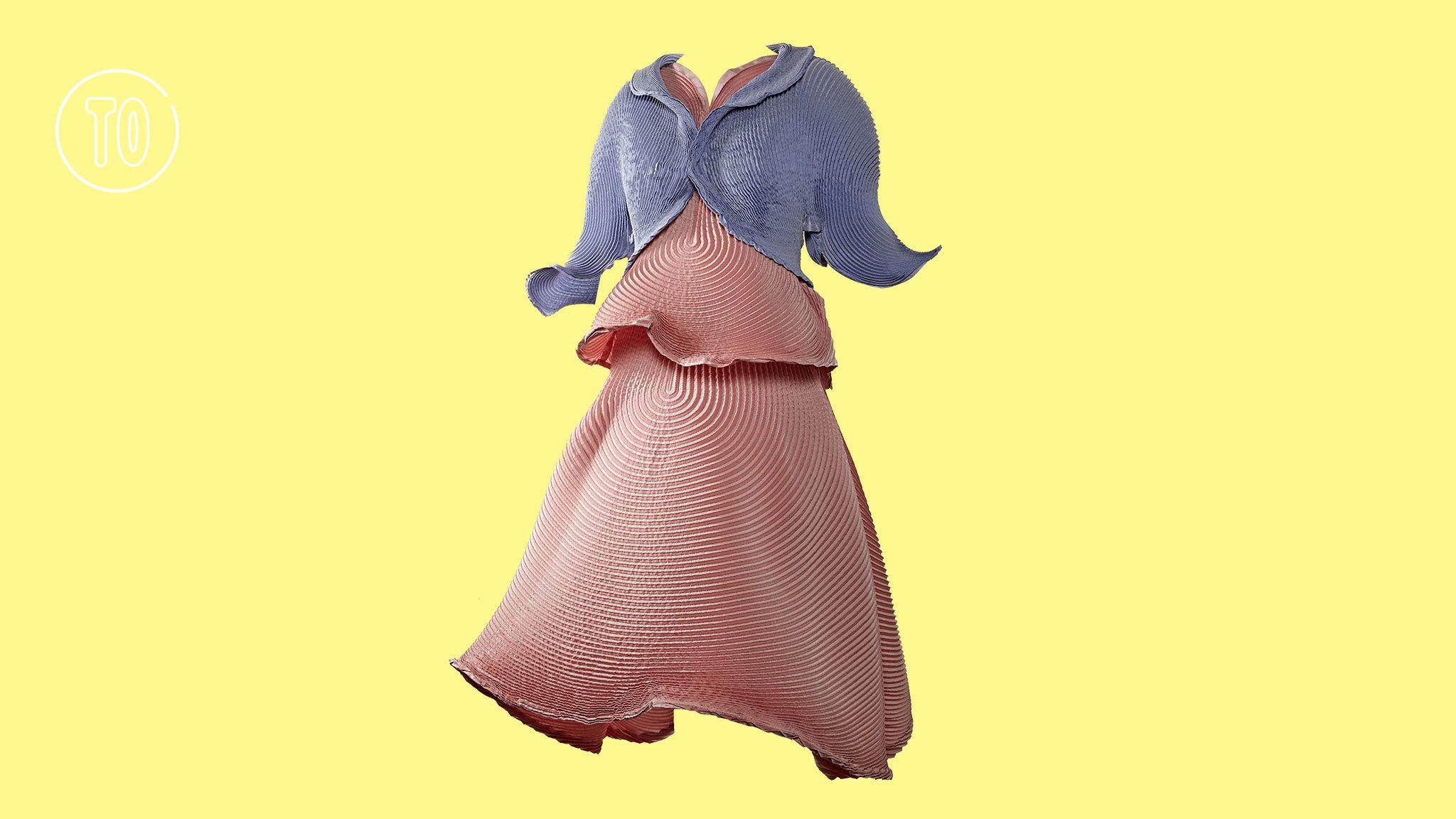 Layered dress, Issey Miyake