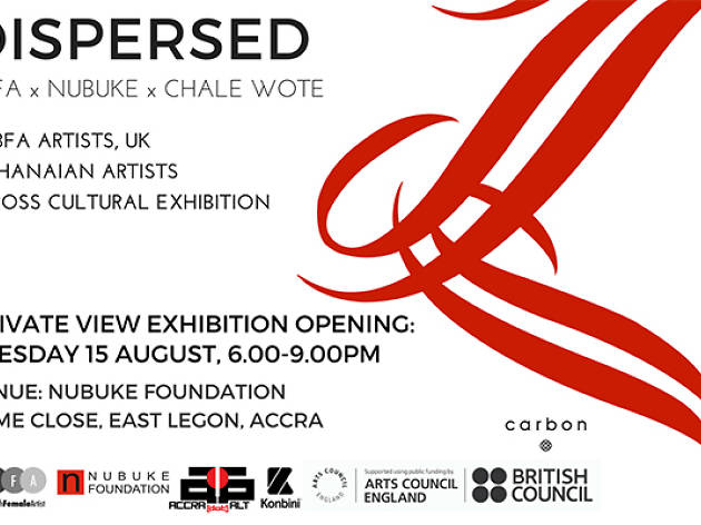 Dispersed - exhibition and artist talk