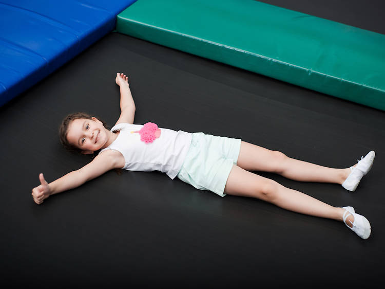 Work off some energy at Sky Zone