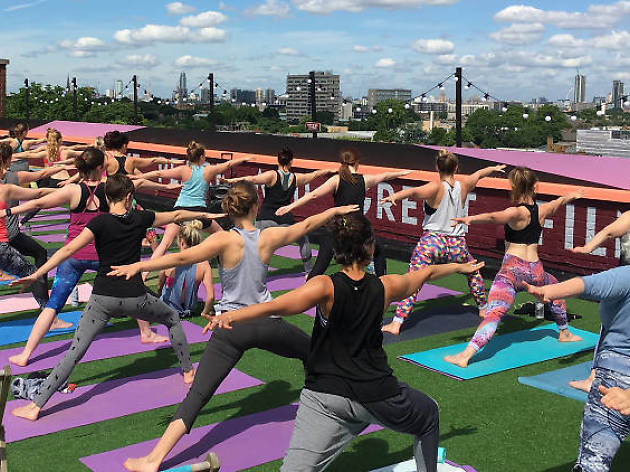 Outdoor exercise classes in London