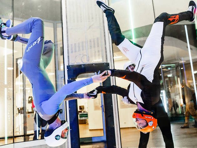 Skydive inside at iFLY