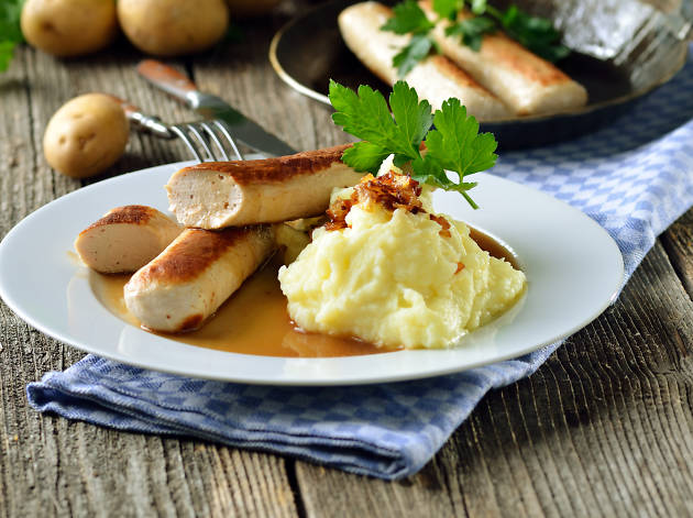 German cuisine; sausage
