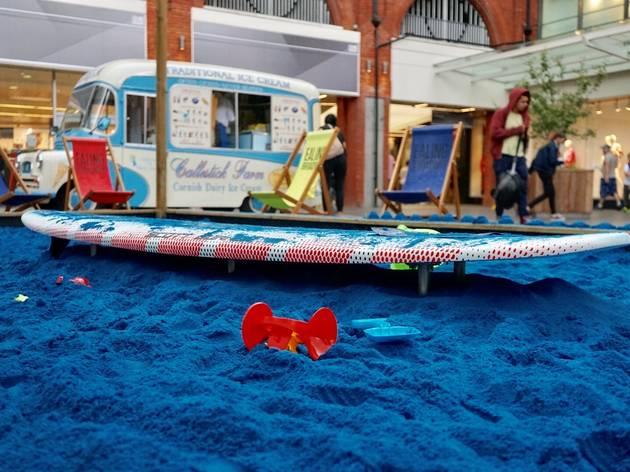 Blue Broadway Beach