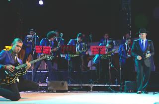 Barandela Big Band celebra 20 años en el teatro de la ciudad