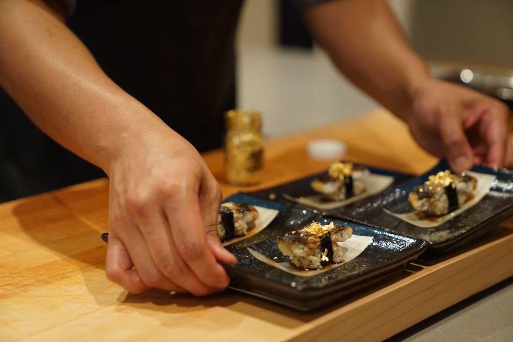 Fresh sushi at Ju-Ni