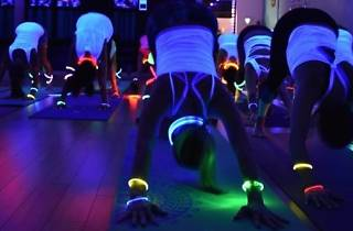 Disco Yoga Party Night