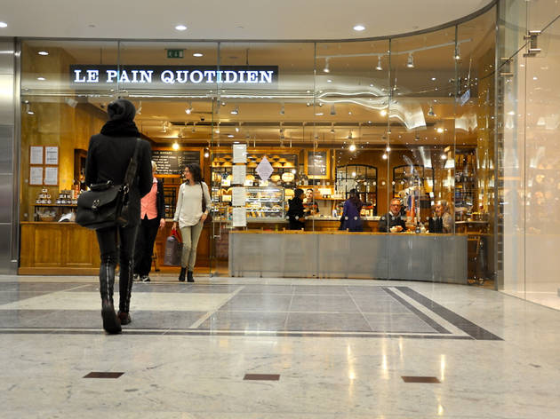 le pain quotidien canary wharf restaurants in canary. Black Bedroom Furniture Sets. Home Design Ideas
