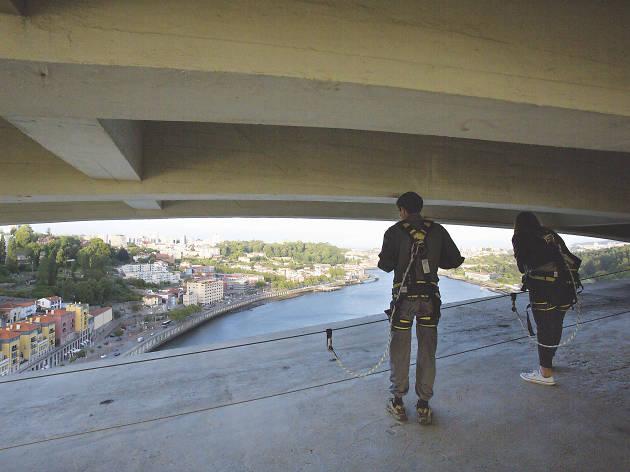 Suba à Ponte da Arrábida