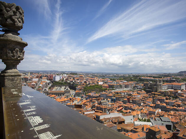 vista da torre dos clérigos