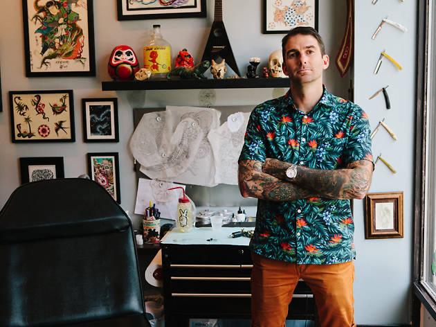 Electric Anvil Tattoo