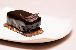 Pastel tarta de chocolate postre en la CDMX