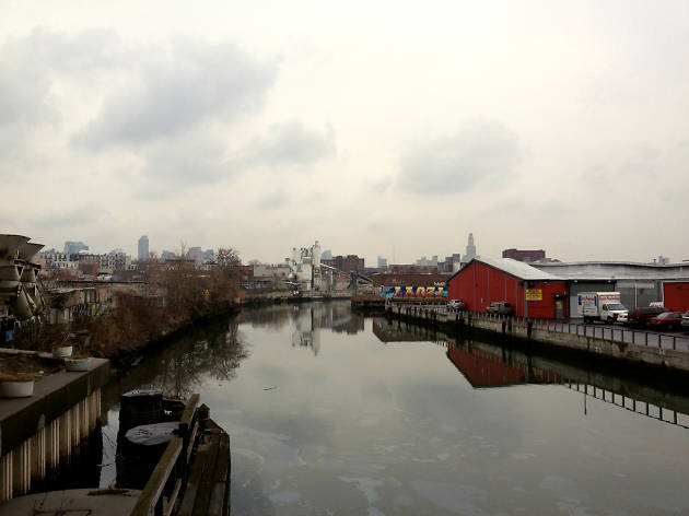 The EPA is preparing to remove Black Mayonnaise from the Gowanus Canal