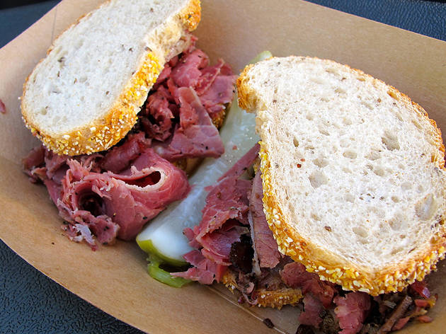 Wise Sons sandwich at SF Street Food Festival