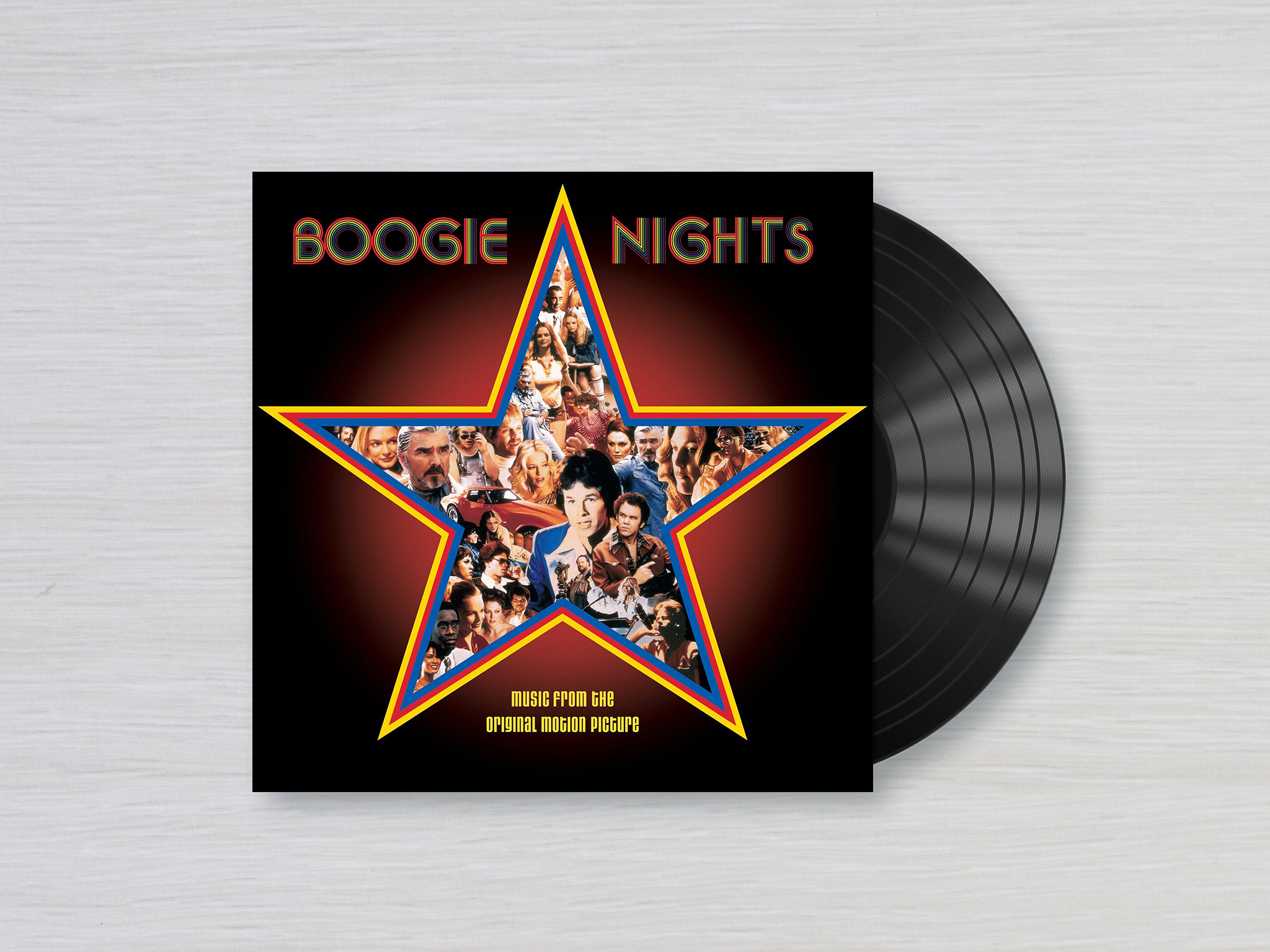 El soundtrack de la película Boogie Nights