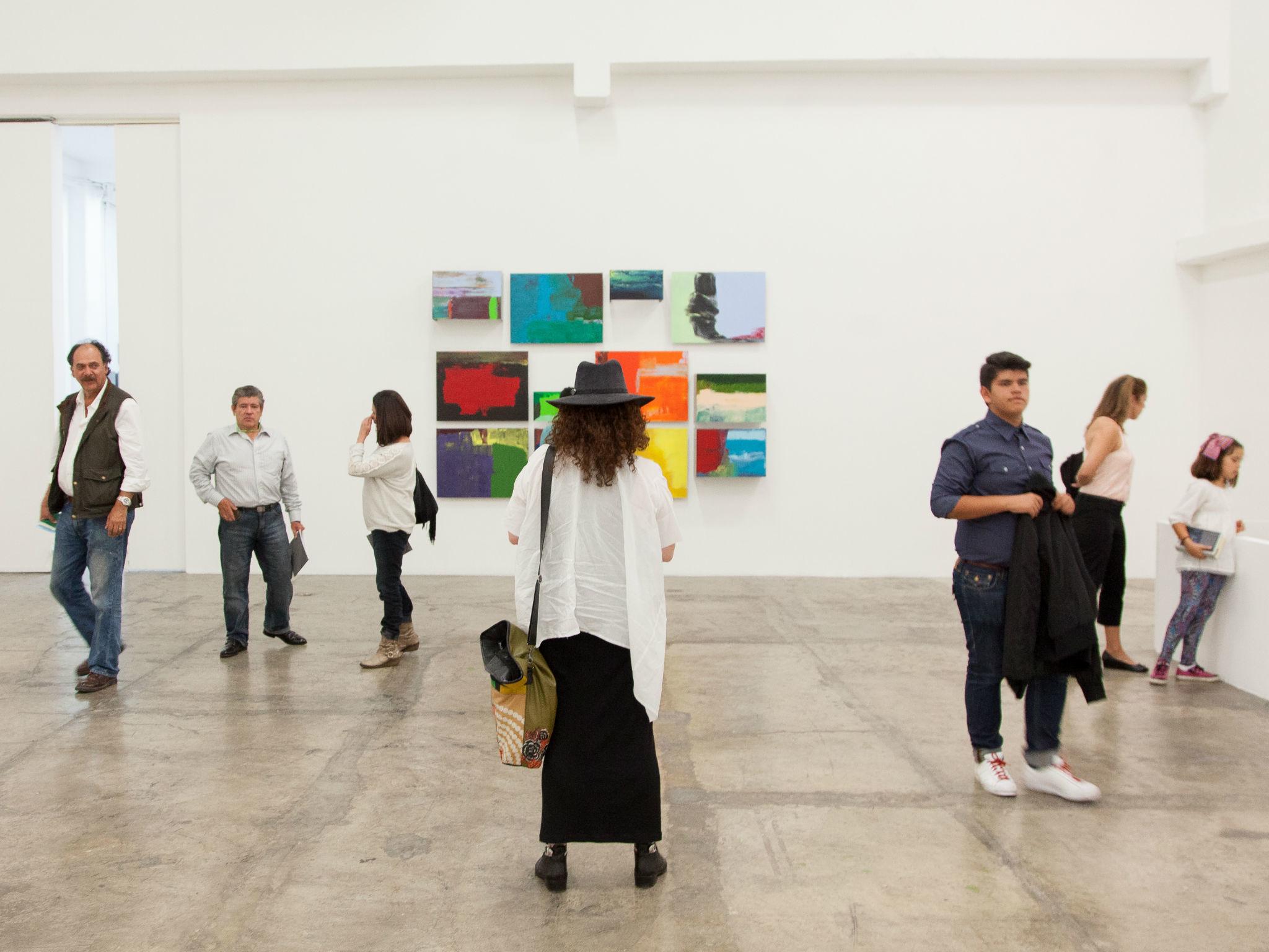 Foto: Galería Luis Adelantado. Cortesía Gallery Weekend México