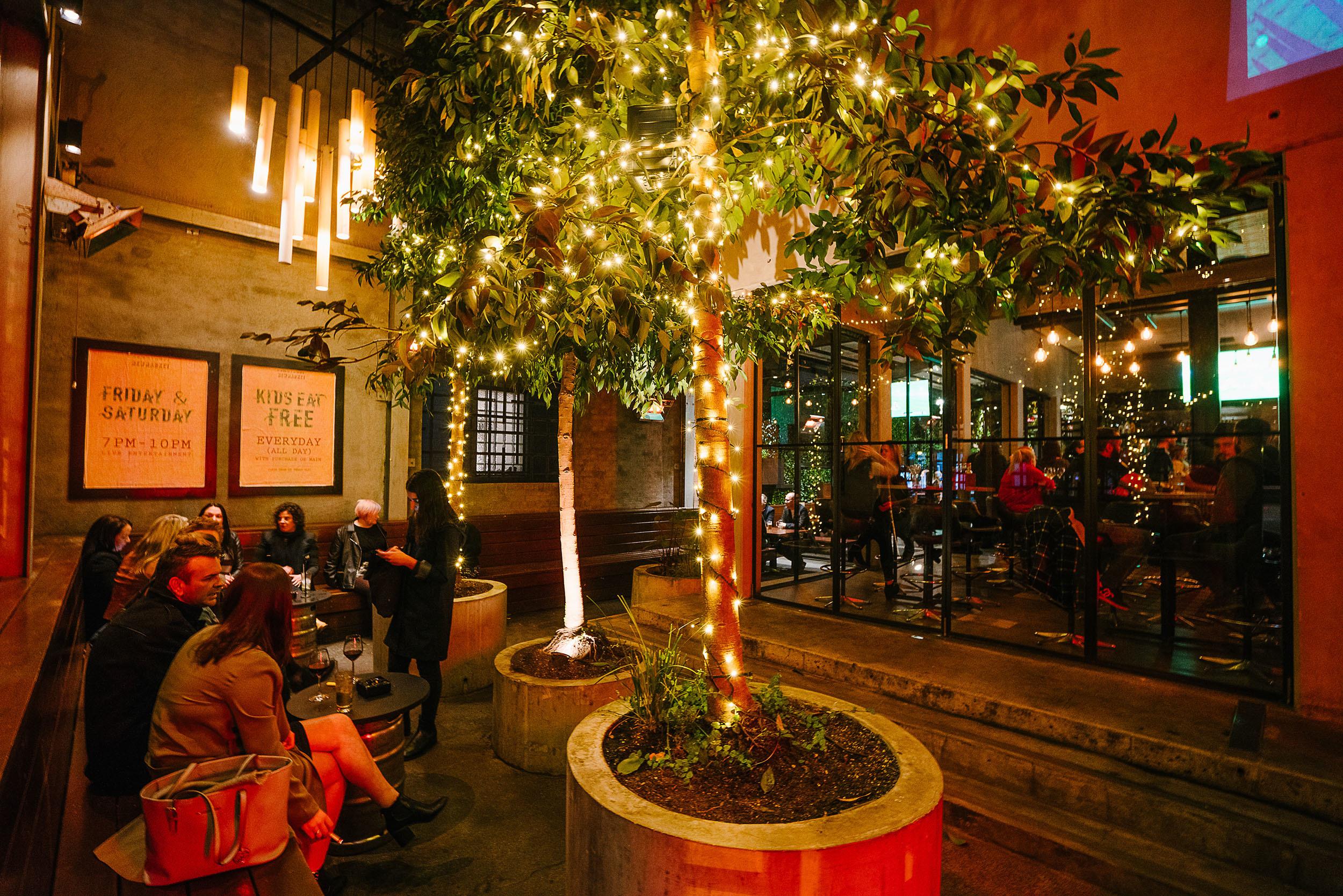 Newmarket Hotel Courtyard