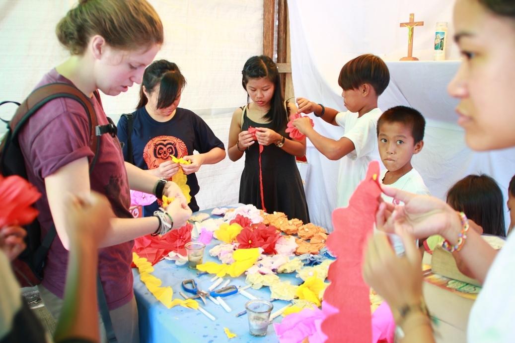 Family art workshops