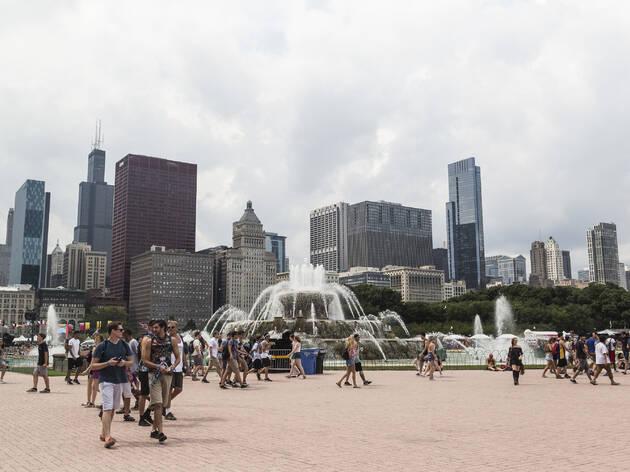 lollapalooza 2017, grant park, park, downtown, chicago, parkk