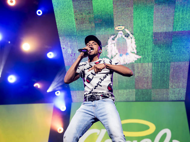 Chance the Rapper marked another milestone at Lollapalooza