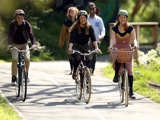 Yarra Trail bikes