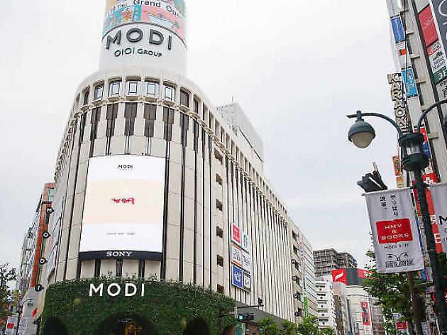 渋谷modi