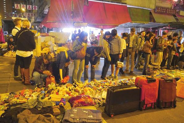 Sham Shui Po midnight market
