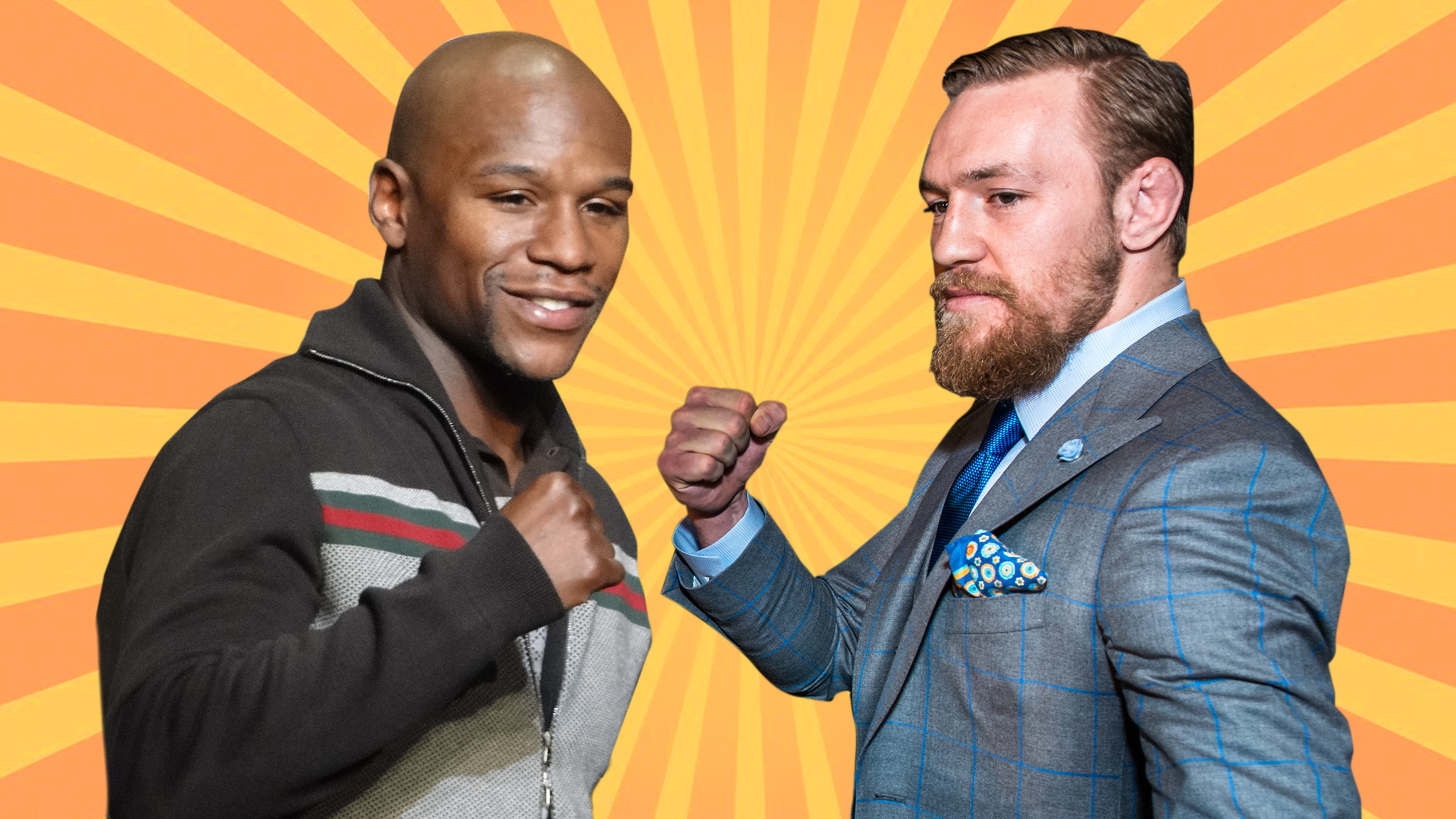 Where to watch the McGregor vs Mayweather fight this month
