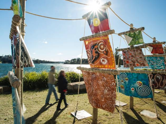 Sculpture at Barangaroo 2017 installation view photographer credit Jamie Williams