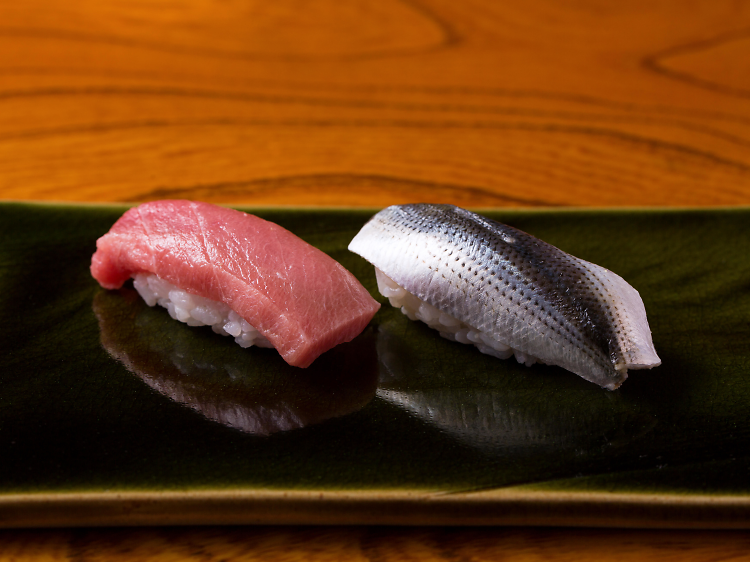Dine on the finest sushi