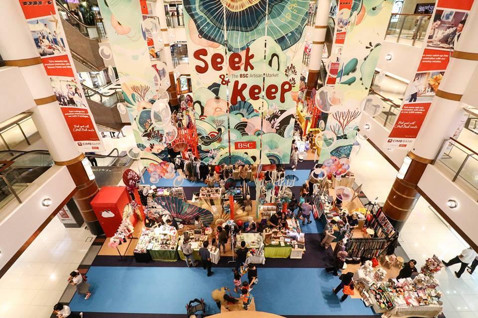 Seek & Keep Artisan Market | Bangsar Shopping Centre | Shopping in Kuala Lumpur