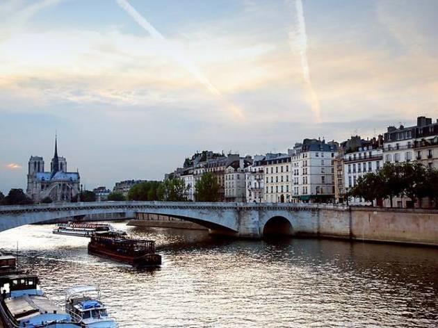 Seine river cruise and Paris illuminations tour
