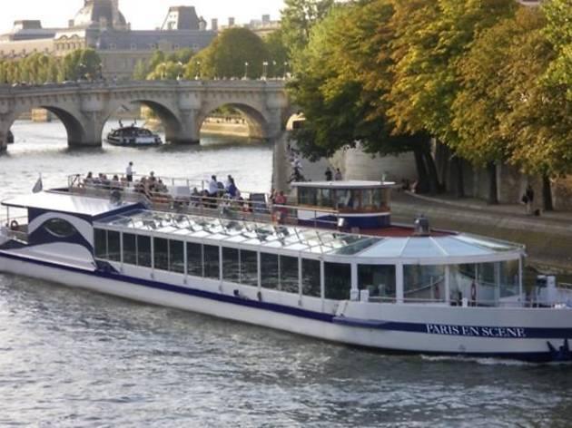 Seine river brunch cruise