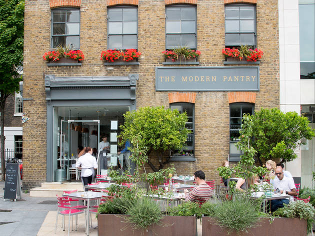 Exterior shot of The Modern Pantry, Clerkenwell
