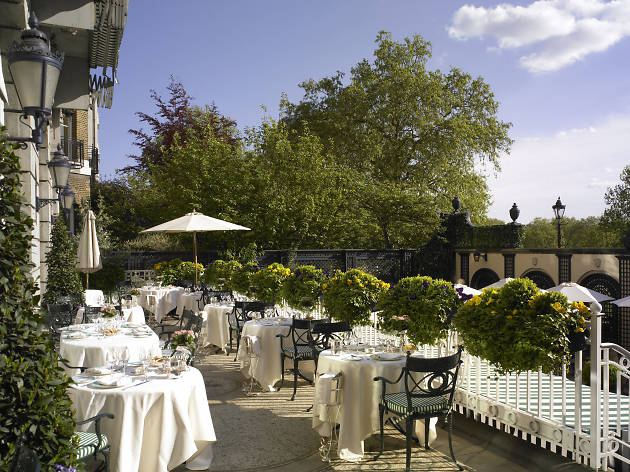 Terrace at The Ritz