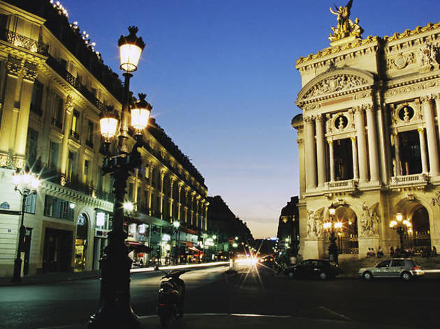 'Paris by night' illuminations tour and Paris Moulin Rouge show