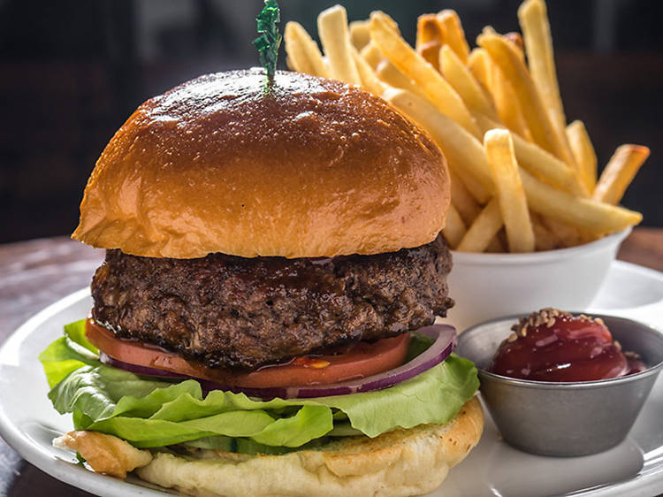 Short Rib Bulgogi Burger at BarKogi