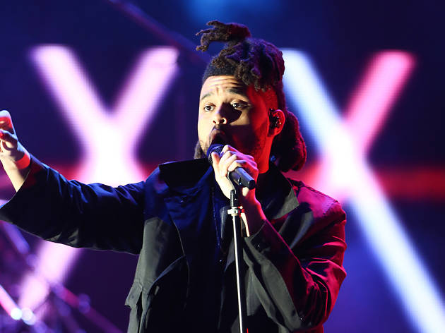 The Weeknd performs in L.A.