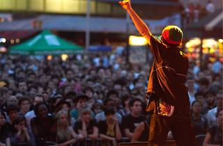 Suicide at Seaport Music Festival