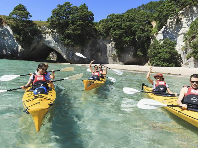 Kayaking in the Coromandel NZ