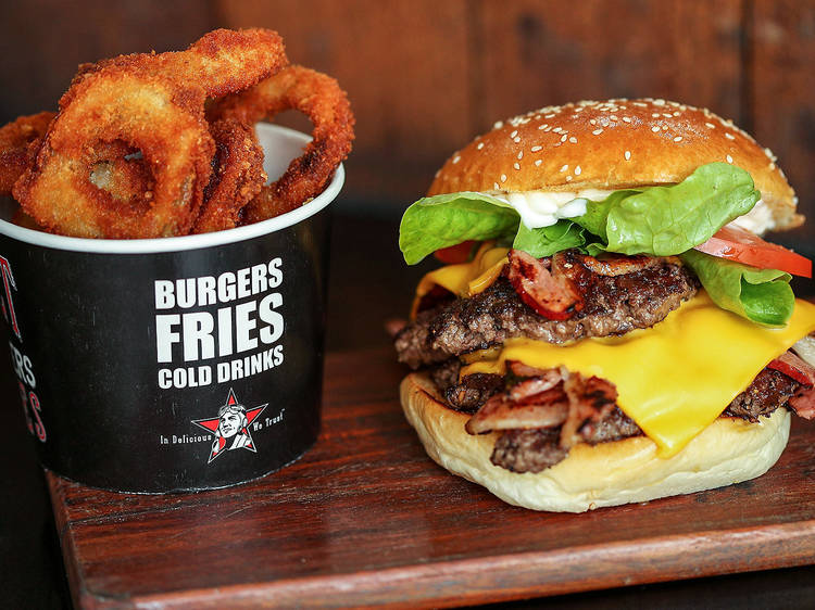 Rocket Burgers and Fries
