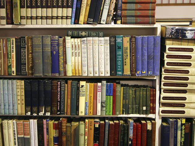 Books at Goulds Bookshop Newtown