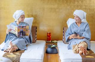 Spa with mom