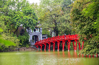 The Huc, Hanoi, Vietnam