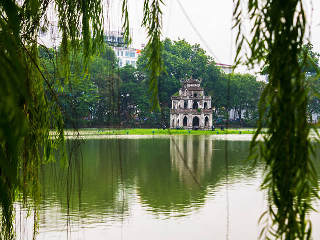 HoànKiếm Lake, Hanoi, Vietnam